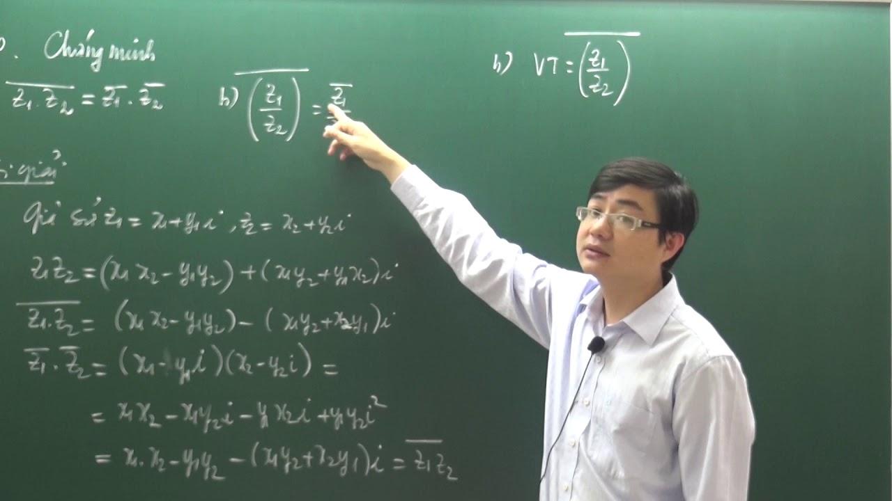 Các dạng toán số phức phần I – Dạng 05 –  Đẳng thức