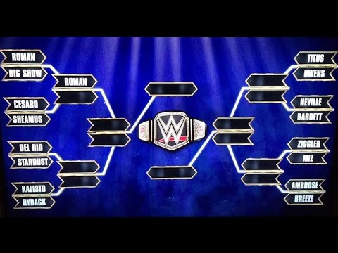 WWE Matches Revealed For WWE World Heavyweight Championship Tournament - WWE BREAKING NEWS!