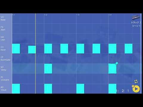 画像2: 04 スネアを入れてみる バレッドプレス KORG Gadget for Nintendo Switch講座 www.youtube.com