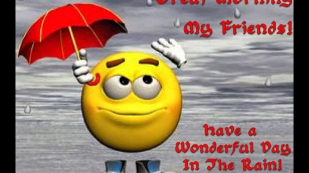 Good morning images wid rain youtube good morning images wid rain m4hsunfo