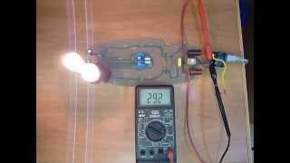 испытание фильтра mge pulsar cl8 аварийным перенапряжением 380 в