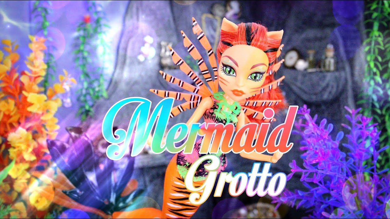 Diy How To Make Doll Room In A Box Mermaid Grotto