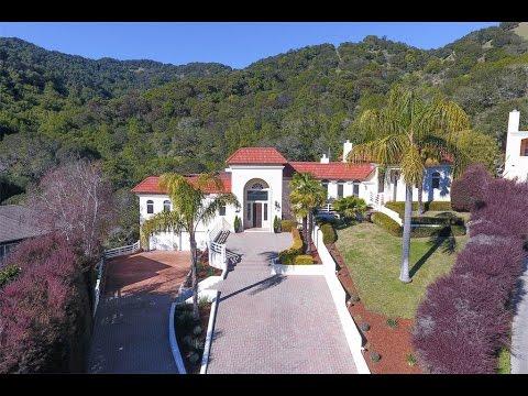 Mediterranean Style Home in San Rafael, California
