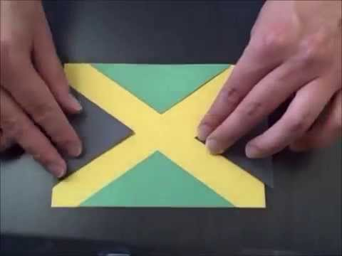 Construction Paper World Flags