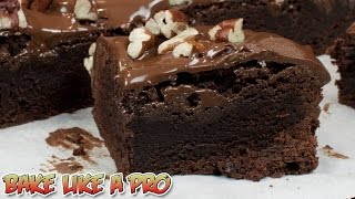 Extra Dark Fast And Easy Brownies Recipe