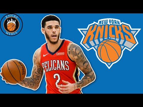 RUMORS: New York Knicks are interested in trading for Lonzo Ball