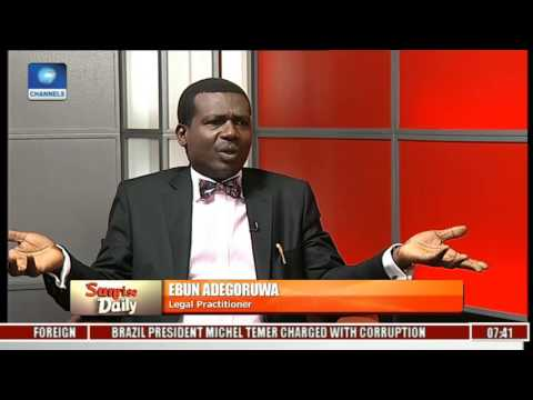 Legal Practitioner Faults Nigeria's System Of Governance Pt 1