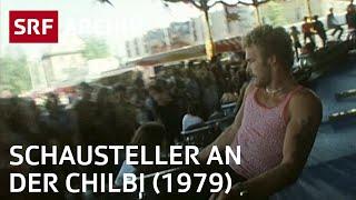 Schausteller an der Chilbi (1979) | Rummelplatz in Neuhausen am Rheinfall | SRF Archiv