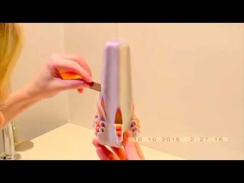 Как сделать резную свечу своими руками?