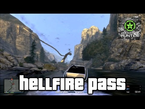 Hellfire Pass - Grand Theft Auto V - Things to do in