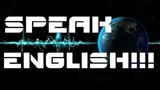 Разговорный английский язык. Как правильно учить английский язык Как говорить по английски свободно