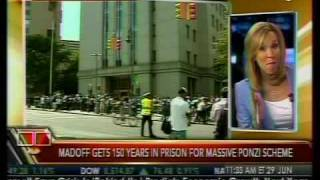 Madoff Gets Full 150-Year Sentence - Bloomberg