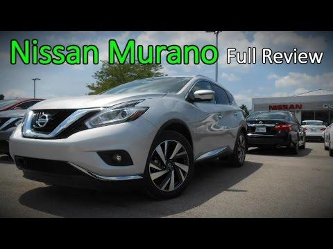 2016 Nissan Murano: Full Review | S, SV, SL, Platinum & Hybrid