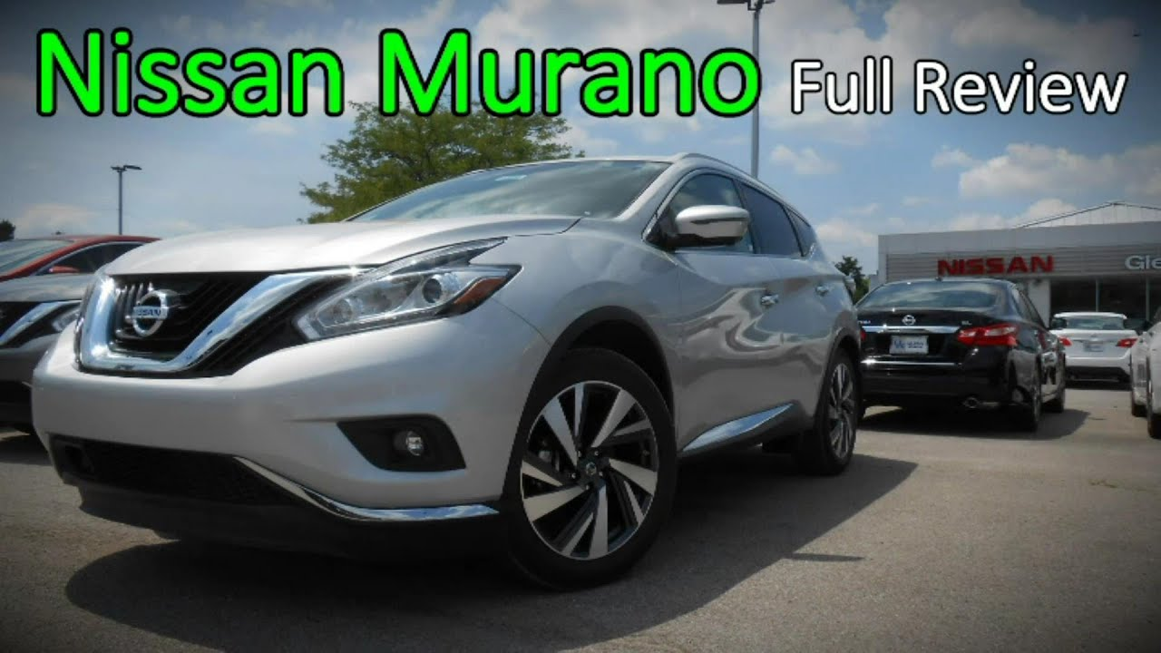 2016 Nissan Murano Full Review S Sv Sl Platinum Hybrid