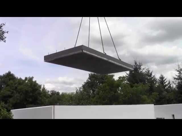 Dom prefabrykowany z betonu lekkiego - Ecodomsystem