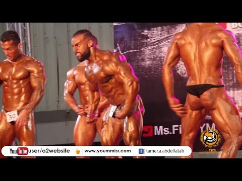 World championship Mr. Fit 2017 Olympia bodybuilding in Egypt