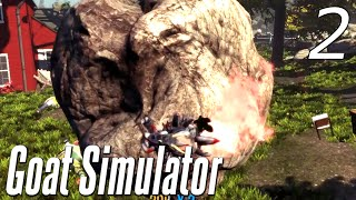 Goat Simulator - Part 2 - BOULDER OF DEATH