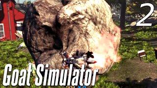 Goat Simulator - Part 2 - BOULDER OF DEATH