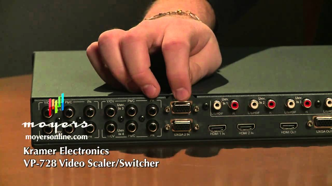 KRAMER VP-730 PRESENTATION SCALER-SWITCHER 64BIT DRIVER DOWNLOAD