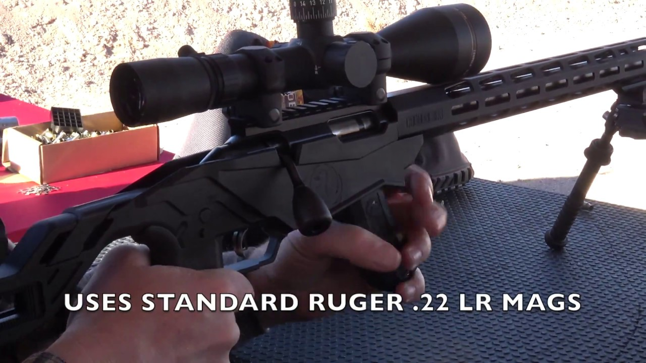 Ruger Precision Rimfire Rifle in 22 LR