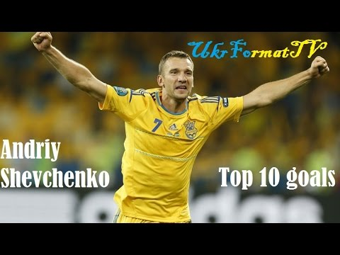 Andriy Shevchenko|TOP10 goals | HD