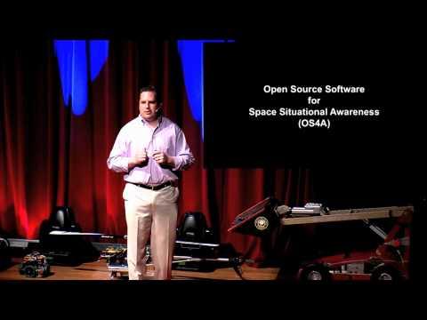 """TEDxISU """"Open Source Space -- Situational Awareness"""" -- Brian Weeden"""
