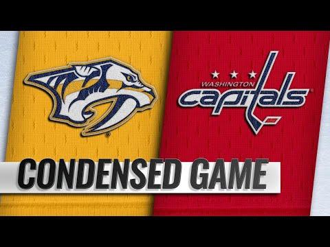 12/31/18 Condensed Game: Predators @ Capitals