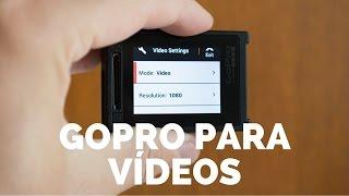 Baixar GOPRO - A MELHOR configuração para seus vídeos na sua câmera | Dicas Gopro