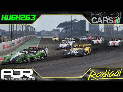 AOR Project CARS PS4 - Radical Royale Race 1 @ Dubai