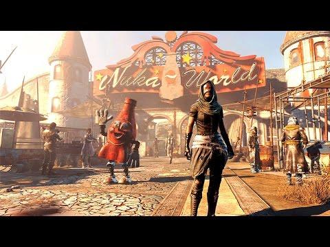 Fallout 4: Nuka World DLC All Cutscenes Game Movie 1080p HD