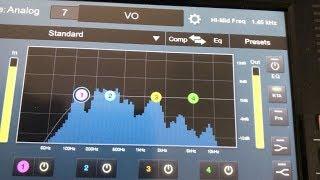 Standard EQ | Presonus StudioLive 24 Series III