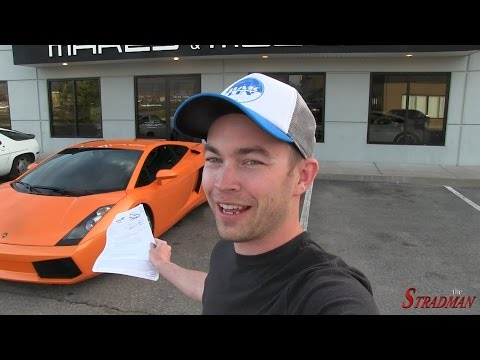 First Maintenance Bill on the Lamborghini – $2,573.43