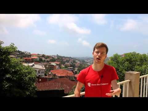 Vlog from Dan Stewart in Sierra Leone