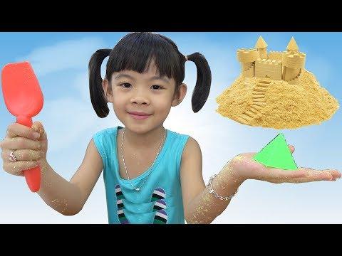 Trò Chơi Tạo Hình Với Cát Động Lực ❤ AnAn ToysReview TV ❤