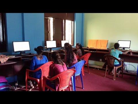 Ramailo Shikshya - Teaching kinds basic computer skills, Nepal