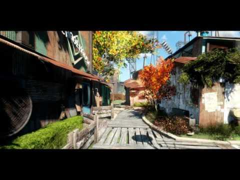AWARHERO's Diamond City: The Great Green Jewel V1.5 Home Street Boardwalk