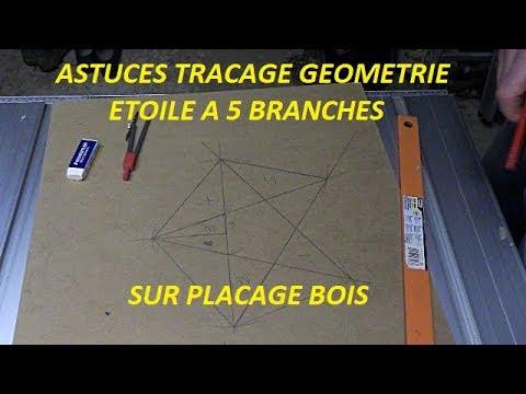 Comment dessiner facilement une étoile à 5 branches ?
