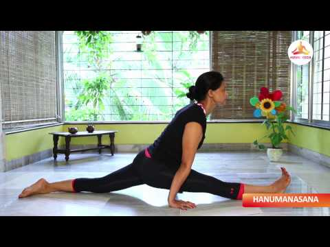 Hanumanasana || Monkey Pose || Yoga For Athletes