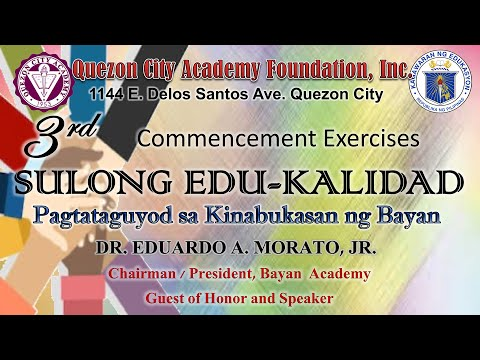 Grade 12 3rd Commencement Exercises