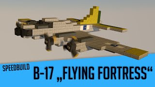 "Speedbuild #9 Boeing B-17 ""Flying Fortress"""