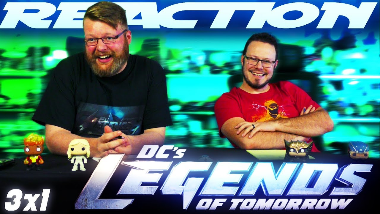 Legends of Tomorrow 3x1 REACTION!!