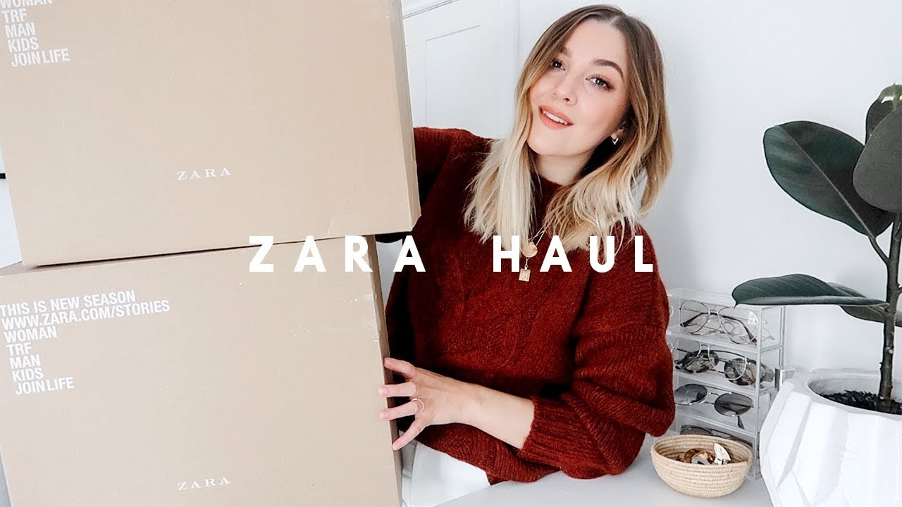 6adc8789f ZARA AUTUMN TRY ON HAUL | I Covet Thee - YouTube