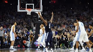 Villanova vs. North Carolina: Buzzer Beating Shot - Villanova Reaction