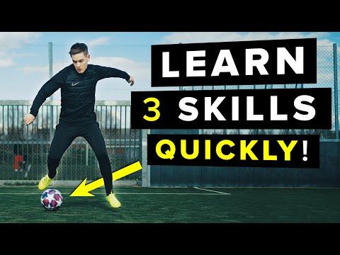 Learn 3 football skills| Lose the defender!