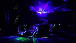 Mapping Laserowy Premiera Nowego Modelu Mercedesa Sopot 2014 MEDIAM EVENT