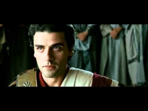 Agora - Christian mob attempts to stone Orestes - scene with Oscar Isaac