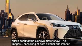 REVEALING New Lexus UX Crossover   MT CARS