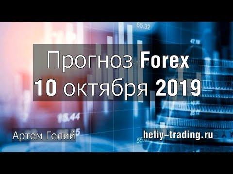 Прогноз форекс на 10.10.2019