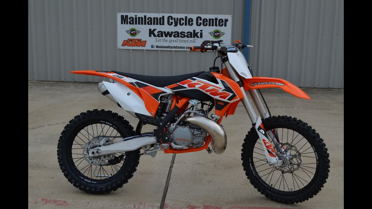 $7,299: 2015 ktm 250 sx 2 stroke motocross bike overview and