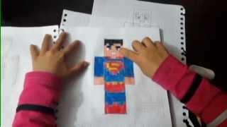 Superman en Minecraft
